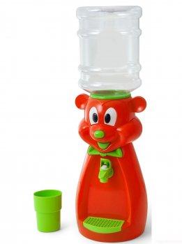 Детский кулер для воды Фунтик Мишка красный
