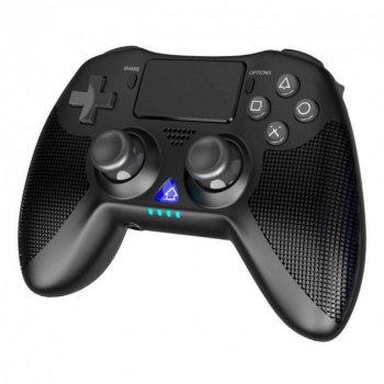 Беспроводной игровой геймпад iPega Bluetooth with 3D acceleration sensor/Gyroscope/Speaker/3.5mm PG-P4008  PS4, iOS, Android, TV  Black