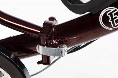 Электровелосипед складной E-motion с низкой рамой 36V 10Ah 350W темно-красный (21NRED)