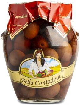 Оливки Bella Contadina Таджаска с косточкой 314 мл (8033162861457)