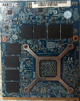 NVIDIA GeForce GTX 680M З 4 ГБ GDDR5