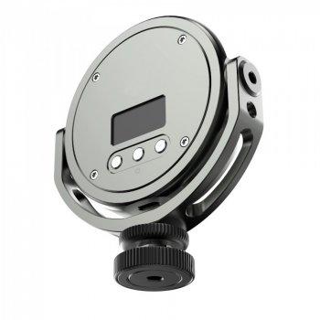 Кольорова світлодіодна RGB LED лампа ULANZI FOTOBETTER R97 + перехідник холодний башмак під камеру