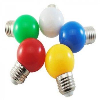 """Лампа світлодіодна G45 1,2 W E27 жовтий кулька """"LEMANSO"""" LM705"""
