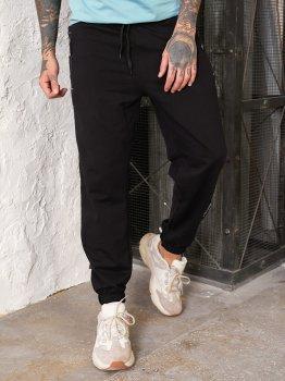 Спортивные штаны Tailer с манжетами Черные (241)