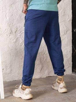 Спортивные штаны Tailer с манжетами Синие (241)