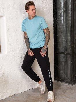 Спортивні штани Tailer з манжетами Чорні (241)