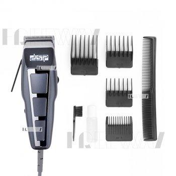 Машинка для стрижки волос и бороды от сети с 4 насадками 3,6,9,12мм DSP (90014SC)