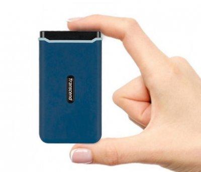 SSD накопичувач Transcend Portable 500GB USB 3.1 Gen 2 ESD370C (TS500GESD370C)
