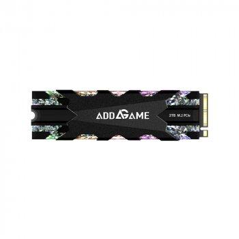 SSD накопичувач AddLink X70 2TB M. 2 2280 NVMe PCIe GEN3x4 3D TLC SSD (ad2TBX70M2P)