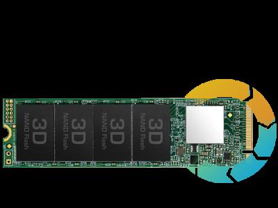 SSD накопичувач TRANSCEND MTE112 1TB M. 2 PCle 3.0 4x 2280 (TS1TMTE112S)