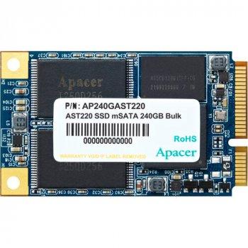 SSD накопичувач APACER AST220 240GB mSATA TLC (AP240GAST220-1)
