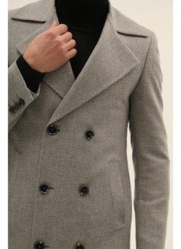Пальто NAVI NV11-7X-001-S Сіре
