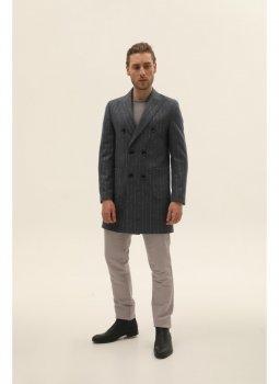 Пальто NAVI NV11-7X-003-S Сіре