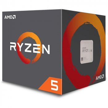 ЦПУ AMD Ryzen 5 2600 6/12 3.4GHz 16Mb AM4 65W Box