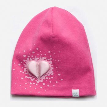 Демисезонная шапка Модный карапуз 03-01098-2 48-50 см Малиновая (4824870110982)