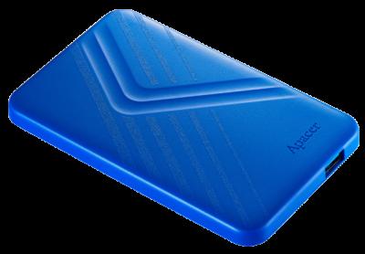 """Жорсткий диск Apacer AC236 1TB 5400rpm 8MB AP1TBAC236U-1 2.5"""" USB 3.1 External Blue"""