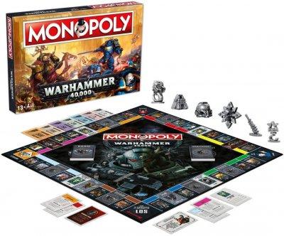 Настільна гра Winning Moves Монополія Warhammer 40,000 (35484) (5036905035484)