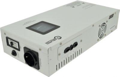 Стабілізатор напруги релейний настінного монтажу EuroPower SLIM-5000SBR LED, 5000VA 4500 W, 140-270Vac, SHUKO 2, Q1 (01166)