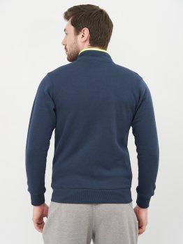 Спортивна кофта Mizuno Sweat Fz Jacket 32EC700914 Синя