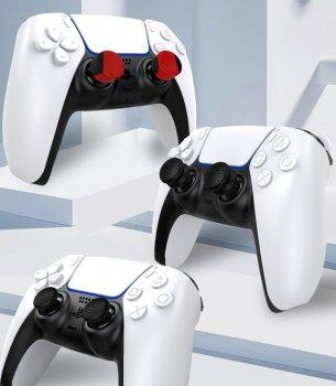 Силиконовые накладки на стики ipega - 6шт в трех размерах (thumb grips kit) для геймпада DualSense консоли Sony PlayStation 5 (PS5 / PS5 Digital Edition)