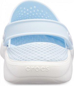 Сабо Crocs Women's LiteRide Clog Mineral Blue/White (Минеральные синие/белые)