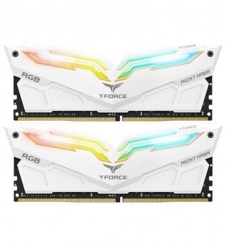 DDR4 2x8GB/3600 Team T-Force Night Hawk White RGB (TF2D416G3600HC18EDC01)