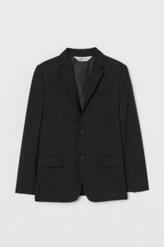 Классический пиджак H&M Черный (0840475001)