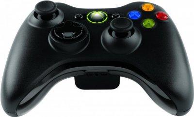 Бездротовий ігровий джойстик геймпад для Xbox 360 Чорний (r-360)