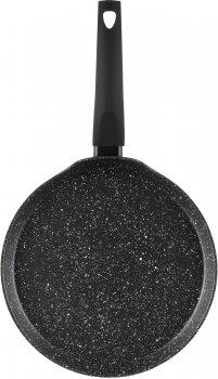 Сковорода для млинців Ardesto Gemini Gourmet 26 см Чорна (AR1926GBP)