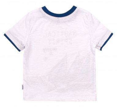 Футболка Бемби FB731 180 Белая с синим