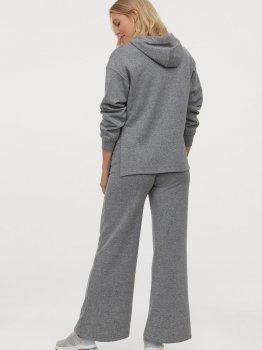 Спортивные брюки для беременных H&M 0905315001 Серый меланж