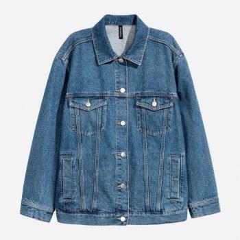 Куртка джинсова H&M 07861701_2 Синя