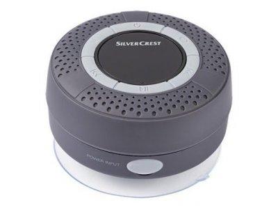 Водонепроникна Bluetooth колонка Silver Crest чорна