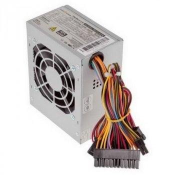 Блок живлення Logicpower Micro mATX 400W, 8см, 2 SATA, OEM, без кабелю живлення