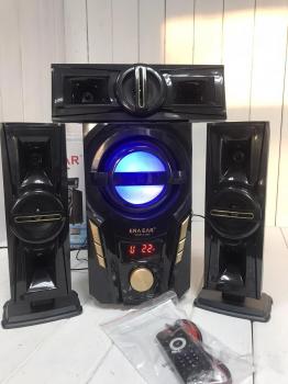 Акустическая система 3.1 Домашний кинотеатр Era Ear E-703A 60W Bluetooth Активный сабвуфер и 3 колонки