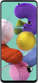 Мобильный телефон Samsung Galaxy A51 6/128GB White (SM-A515FZWWSEK) (354595389257917) - Уценка