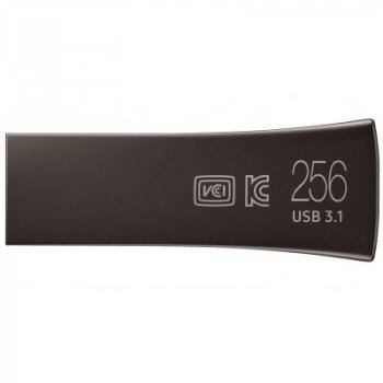 USB флеш накопитель Samsung 256GB BAR Plus USB 3.0 (MUF-256BE4/APC)