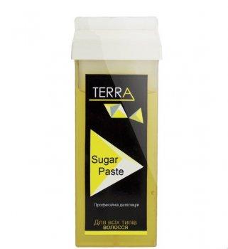 """Сахарная паста для шугаринга в кассете """"Бандажная"""" Terra, 150 гр"""