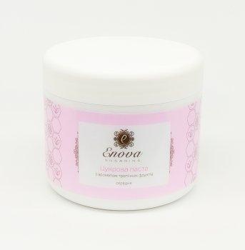 """Розовая сахарная паста для шугаринга """"Средняя"""" с ароматом тропических фруктов Enova, 700 мл"""