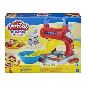 Игровой набор с массой для лепки Play-Doh Kitchen creations Макаронная вечеринка (E7776)