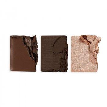 Набор для моделирования бровей MAKEUP REVOLUTION Brow Sculpt Kit Dark Brown