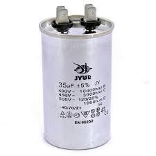 Конденсатор пусковий CBB65 плівковий 35 мкФ 450В JYUL