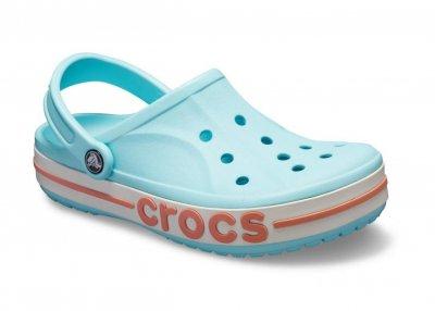 Сабо Crocs Women's Bayaband Clog M4W6 Ice Blue / Melon 205089