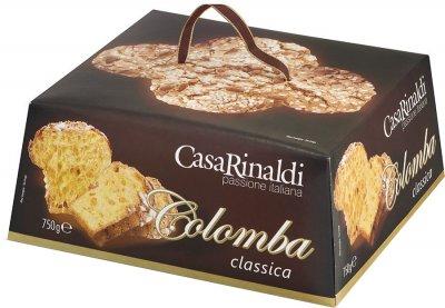 Кекс Colombo Casa Rinaldi Панеттоне с цукатами и изюмом 750 г (8006165409599)
