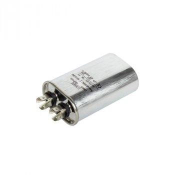 Конденсатор універсальний для кондиціонера CBB65 30x50x80mm (8 клем)