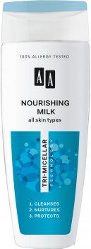 Молочко для лица AA Cosmetics Питательное Тримицеллярная технология для всех типов кожи 200 мл (5900116047294)