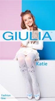 Колготки Giulia Katie 80 (2) 80 Den 128-134 см Bianco (4823102935522)