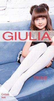 Колготки Giulia Trixie (2) 80 Den 140-146 см Bianco (4823102941165)