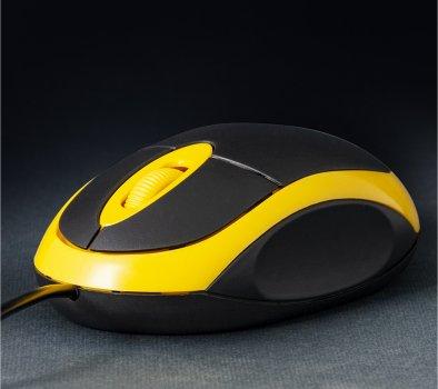 Мышь Frime FM-001BY Black/Yellow