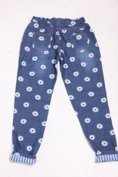 Штаны SimpleFashionEllegance 6255 джинс (Синий)